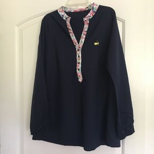 MAGNOLIA LANE Collection Womans Masters Cup Blouse